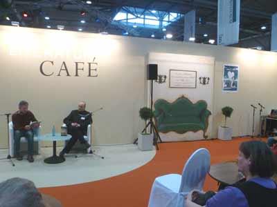 Ausstellung Illufabrik im Literaturcafé auf der Buchmesse Leipzig 2011